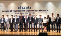 Ra mắt Câu lạc bộ thương nhân Việt trên đất Hàn