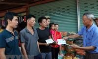 Vỡ đập thủy điện tại Lào: Cộng đồng người Việt Nam chung tay giúp người dân Lào khắc phục sự cố