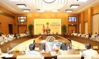 Bế mạc phiên họp thứ 26 Ủy ban Thường vụ Quốc hội
