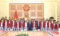 Thủ tướng Chính phủ quyết định tặng bằng khen Đội tuyển Bóng đá Olympic quốc gia
