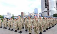 Lực lượng gìn giữ hòa bình Việt Nam lên đường làm nhiệm vụ