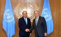 Thủ tướng kết thúc tham dự Phiên thảo luận cấp cao Đại hội đồng Liên Hợp Quốc khóa 73