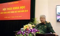 Hội thảo khoa học về Sách Trắng Quốc phòng Việt Nam năm 2018