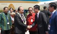 Thủ tướng Nguyễn Xuân Phúc đến Bali, Indonesia, bắt đầu Cuộc gặp các nhà lãnh đạo ASEAN