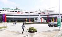 Ha Nam에서 Bach Mai및 Viet Duc병원 준공