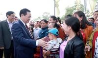 Phó Thủ tướng Vương Đình Huệ dự Ngày hội Đại đoàn kết ở tỉnh Nghệ An