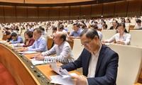 Quốc hội thảo luận về dự án Luật Giáo dục sửa đổi và Luật quản lý thuế sửa đổi