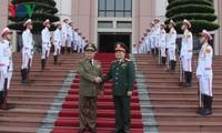 Thúc đẩy hợp tác quốc phòng Việt Nam - Cuba