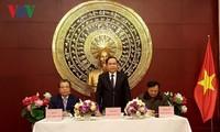 Chủ tịch Ủy ban Trung ương Mặt trận Tổ quốc Việt Nam Trần Thanh Mẫn thăm Trung Quốc