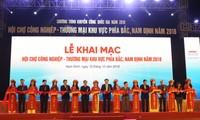 Khai trương Hội chợ Công nghiệp, Thương mại khu vực phía Bắc; Hội chợ Hàng Việt Nam chất lượng cao