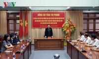 Phó Chủ tịch Thường trực Quốc hội Tòng Thị Phóng thăm Vùng 3 Hải quân