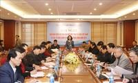 Hội nghị Giao ban công tác dân vận khối MTTQ Việt Nam và các tổ chức chính trị - xã hội Trung ương