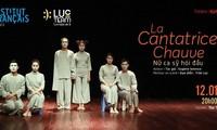 """""""Nữ ca sỹ hói đầu"""" ra mắt khán giả thủ đô cùng đoàn kịch LucTeam"""