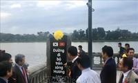 Đưa vào sử dụng cầu đi bộ trên sông Hương do Chính phủ Hàn Quốc tài trợ