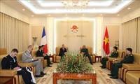 Tăng cường hợp tác quốc phòng giữa Việt Nam và Pháp