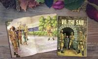 Võ Thị Sáu và Lý Tự Trọng trong sách tranh minh họa khổ lớn