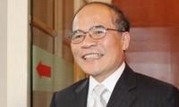 ประธานรัฐสภาเวียดนามจะเดินทางไปเยือนไทยและญี่ปุ่นในระหว่างวันที่ 3-8 ธันวาคม