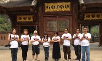 กิจกรรมของคณะผู้สื่อข่าวจากกรมประชาสัมพันธ์ไทยในเวียดนาม