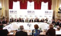 ที่ประชุมรัฐมนตรีต่างประเทศจี8 ออกแถลงการณ์ร่วมเกี่ยวกับซีเรียและเกาหลีเหนือ