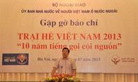 ค่ายฤดูร้อนสำหรับยุวชนและเยาวชนเวียดนามที่อาศัยในต่างประเทศ