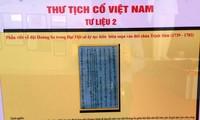 """งานนิทรรศการ """"หว่างซา เจื่องซาของเวียดนาม – หลักฐานทางประวัติศาสตร์และนิตินัย"""""""