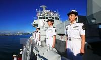กองเรือของกองทัพเรือจีนออกจากเขตทะเลนอกชายฝั่งของรัฐอะลาสกา