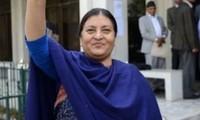 เนปาลมีประธานาธิบดีหญิงคนแรก