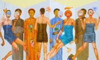 งานนิทรรศการภาพวาดของกลุ่มจิตรกรเวียดนาม มาเลเซียและไทย