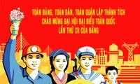 เปิดการประชุมสมัชชาใหญ่พรรคคอมมิวนิสต์เวียดนามสมัยที่ 12