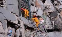จำนวนผู้เคราะห์ร้ายจากเหตุแผ่นดินไหวในไต้หวัน ประเทศจีนเพิ่มขึ้นอย่างต่อเนื่อง