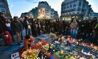 เบลเยี่ยมจัดพิธีไว้อาลัยผู้เคราะห์ร้ายจากเหตุระเบิดเมื่อวันที่ 22 มีนาคม