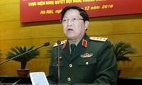 รัฐมนตรีว่าการกระทรวงกลาโหมเวียดนามเยือนประเทศไทยอย่างเป็นทางการ