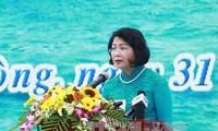 รองประธานประเทศดั่งถิหงอกถิ่งเข้าร่วมงานเทศกาลออกทะเลจับปลาปี 2017
