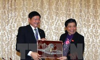 ผู้บริหารรัฐสภาเวียดนามให้การต้อนรับหัวหน้าคณะส.ส.ประเทศที่เข้าร่วมการประชุมเชิงวิชาการของไอพียู