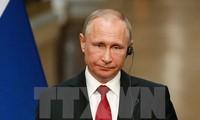 ประธานาธิบดีรัสเซียให้สัมภาษณ์สำนักข่าวต่างชาติ