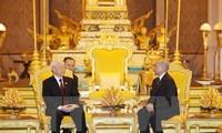 พยายามส่งเสริมความสามัคคีมิตรภาพที่มีมาช้านานและความร่วมมือในทุกด้านระหว่างเวียดนามกับกัมพูชา