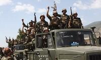 กองทัพซีเรียสามารถขับไล่กลุ่มไอเอสใกล้เขตชายแดนที่ติดกับอิรัก