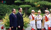 การเปิดประวัติศาสตร์หน้าใหม่ให้แก่ความสัมพันธ์ระหว่างเวียดนามกับอียิปต์