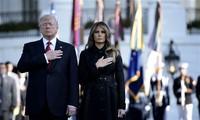 ประธานาธิบดีสหรัฐให้คำมั่นที่จะปกป้องประเทศสหรัฐในโอกาสรำลึกครบรอบ 16 ปีเหตุวินาศกรรม 11 กันยายน