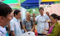 เปิดตลาดนัดโสมหงอกลิงครั้งแรกในจังหวัดกว๋างนาม