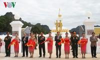 พิธีเปิดตัวและมอบอนุสาวรีย์พันธมิตรแห่งการต่อสู้เวียดนาม-ลาว