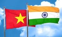 ความสัมพันธ์ระหว่างเวียดนามกับอินเดียมีส่วนร่วมที่เข้มแข็งต่อความสัมพันธ์ระหว่างอินเดียกับอาเซียน