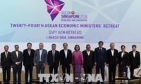 อาเซียนอนุมัติโครงการความร่วมมือด้านเศรษฐกิจเพื่อผลักดันการเชื่อมโยงในภูมิภาค