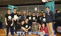เวียดนามเข้าร่วมการแข่งขันหุ่นยนต์ First Robotics ณ ประเทศออสเตรเลีย