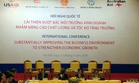 บรรยากาศการประกอบธุรกิจและขีดความสามารถในการแข่งขันของเวียดนามได้รับการปรับปรุงอย่างต่อเนื่อง