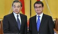 ญี่ปุ่นและจีนผลักดันการปรับปรุงความสัมพันธ์ทวิภาคี
