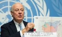 สหประชาชาติ และอียูเรียกร้องให้ผลักดันการเจรจาทางการเมืองเพื่อยุติการปะทะในซีเรีย
