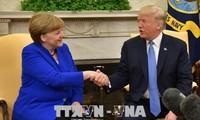 นายกรัฐมนตรีเยอรมนีเจรจากับประธานาธิบดีสหรัฐ