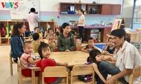 โรงเรียนอนุบาลมาตรฐานสากลสำหรับบุตรของกรรมกรในนครดานัง