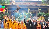 เวียดนามปฏิบัตินโยบายให้ความเคารพและค้ำประกันสิทธิเสรีภาพในการนับถือศาสนาและความเลื่อมใสของประชาชน